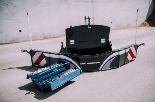 bumper-masse-lestage-masse bumper-coffre de rangement-poids tracteur-masse bumper A