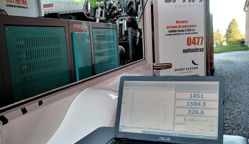 optimisation moteur-cartographie moteur-banc de puissance-agricole- optimisation moteur agricole C